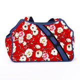 HOOPET Pet Dog Cat Carrier Slings Floral Festive Chinese Style Dog Bag Windproof Fashion All Seasons Red - Swag for My Dog