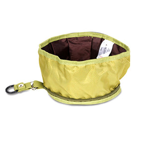 Collapsible Oxford Travel Food/Water Bowl - Swag for My Dog