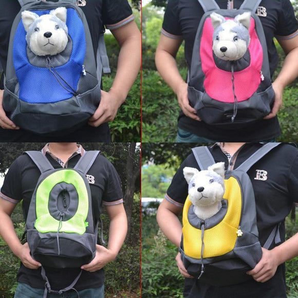 Dog Carrier | Pet Backpack | Portable Travel Bag - Swag for My Dog
