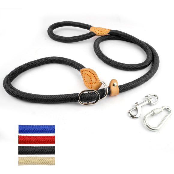 Nylon Rope Dog Training Leash - Swag for My Dog