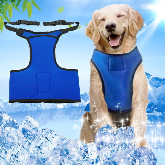 Summer Dog Vest Cooling Harness For Dogs with Adjustable Neck - Swag for My Dog