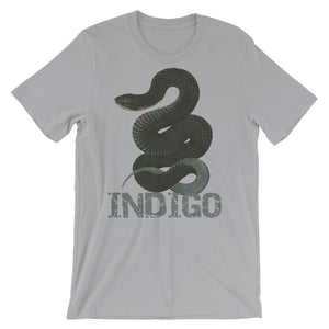 Indigo Short-Sleeve Unisex T-Shirt