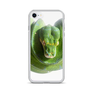Green Tree Python iPhone Case
