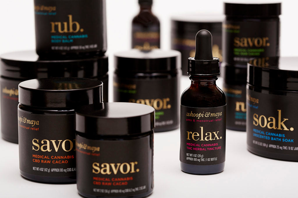 Whoopi & Maya Cannabis Products