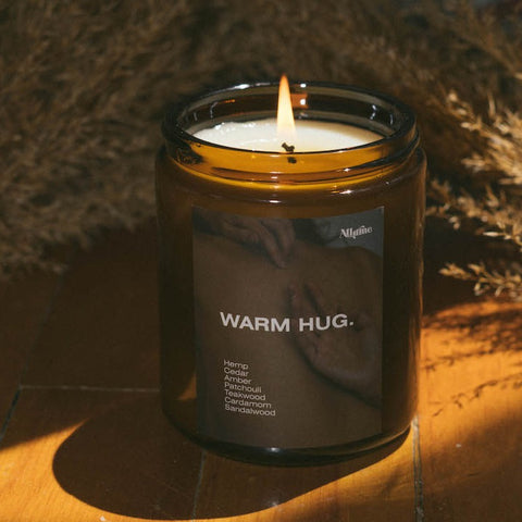 Warm Hug Hemp Candle