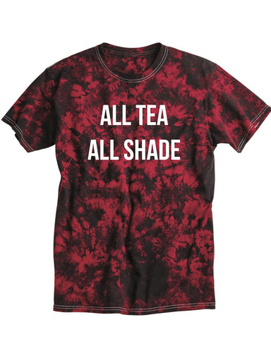 *LTD* All Tea All Shade Red Crystal T-Shirt