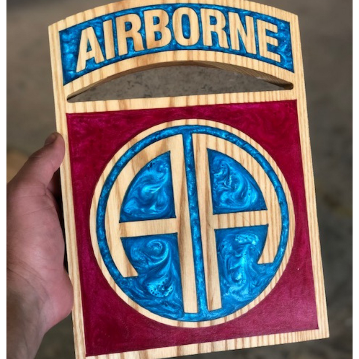 82nd Airborne Patch Wall Hanging