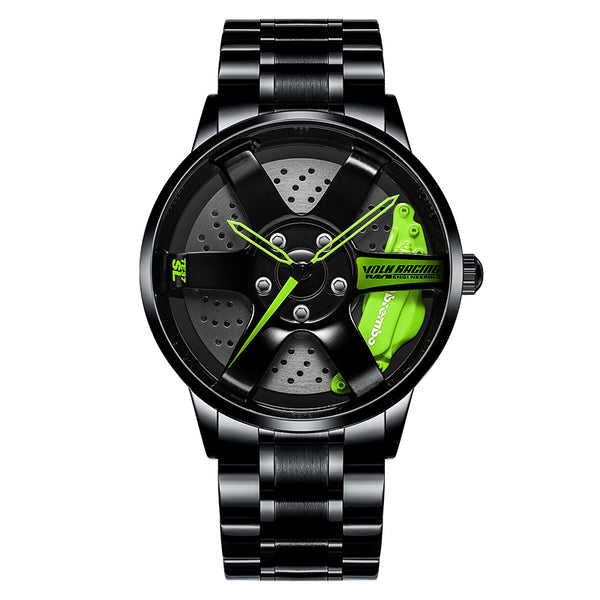 Custom Design Sports Car Rim Watch