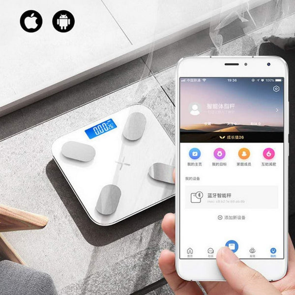 Smart LED Bluetooth Scale