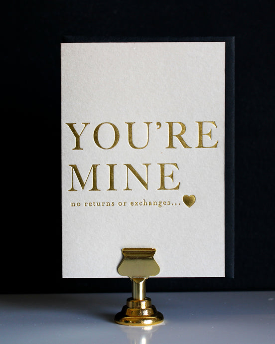 Sentimental Greeting Card