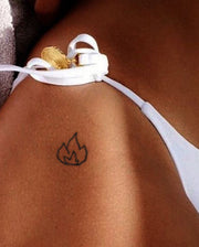 Flame Tattoo.