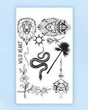Nature Lover Tattoo Bundle.