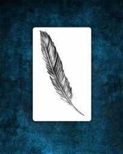 Feather Tattoo Design.
