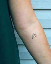 Egyptian Pyramid Tattoos.