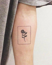 Rose Frame Tattoo