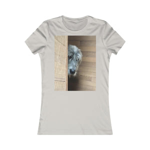 Watching You Tee Shirt - wolfhound wearables T-Shirt - dog art  T-Shirt - pet art T-Shirt - dog shirt