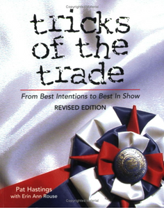 Tricks of the Trade: From Best Intentions to Best in Show, Revised Edition - wolfhound wearables book - dog art  book - pet art book - dog shirt