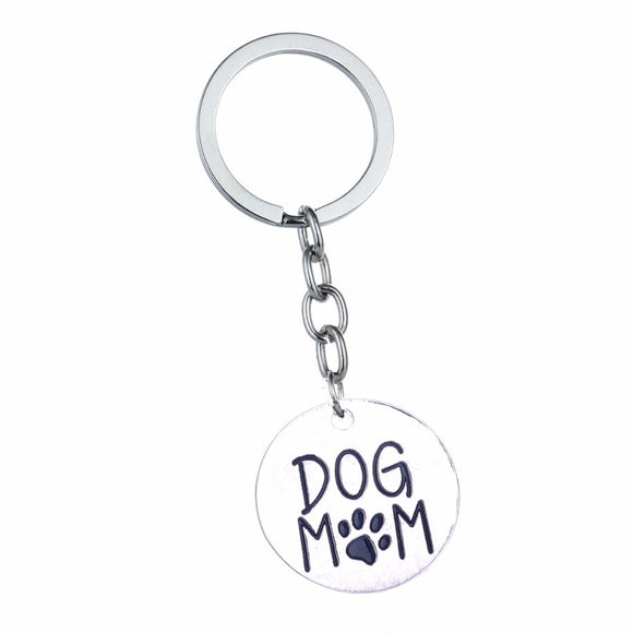 Dog Mom Key chain - wolfhound wearables jewelry for dog lovers - dog art  jewelry for dog lovers - pet art jewelry for dog lovers - dog shirt