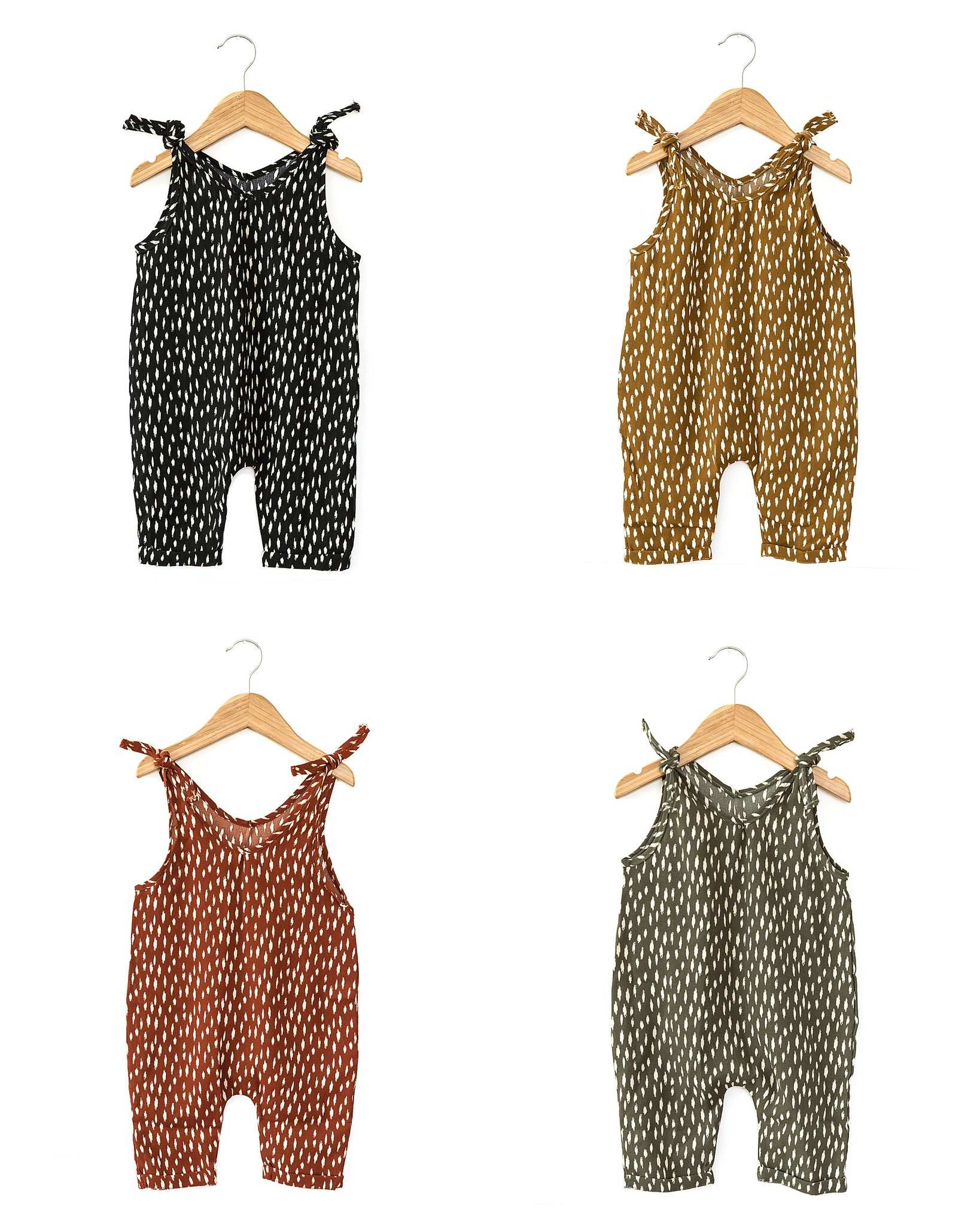 Bree Romper in Mustard - Reverie Threads