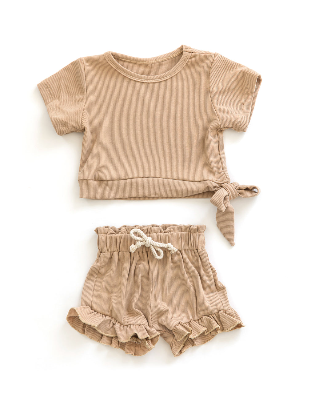 Tia Outfit in Caramel - Reverie Threads