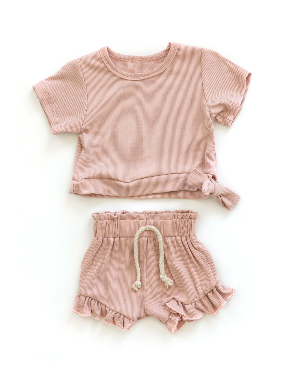 Tia Outfit in Dusty Pink - Reverie Threads