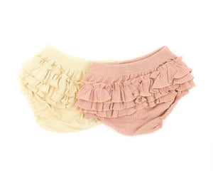 Betty Bloomers in Cream Ruffles - Reverie Threads