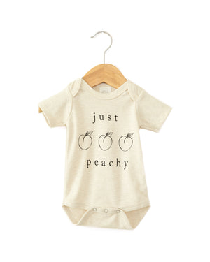 Just Peachy Bodysuit - Reverie Threads