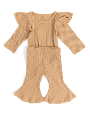 Cecily Outfit in Caramel - Reverie Threads