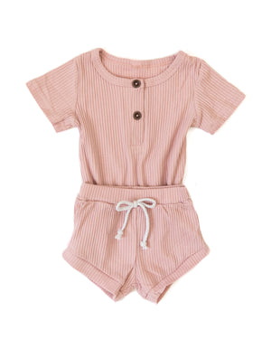 Andy Outfit in Light Pink - Reverie Threads