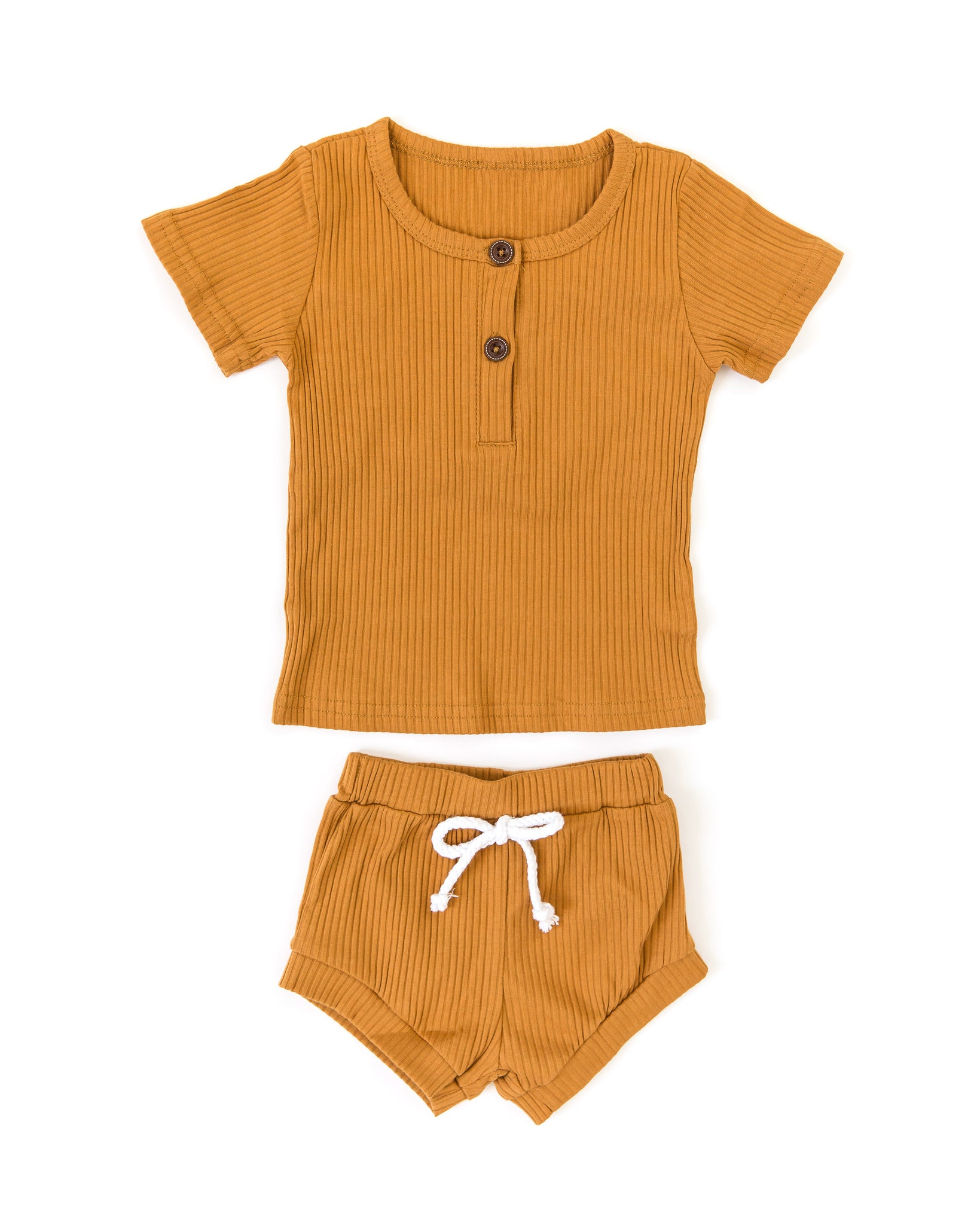 Andy Outfit in Burnt Orange - Reverie Threads