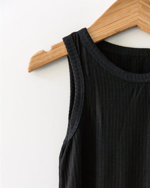 Basic Bodysuit in Black - Reverie Threads