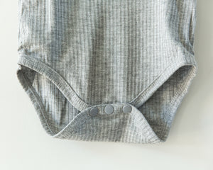 Basic Bodysuit in Gray