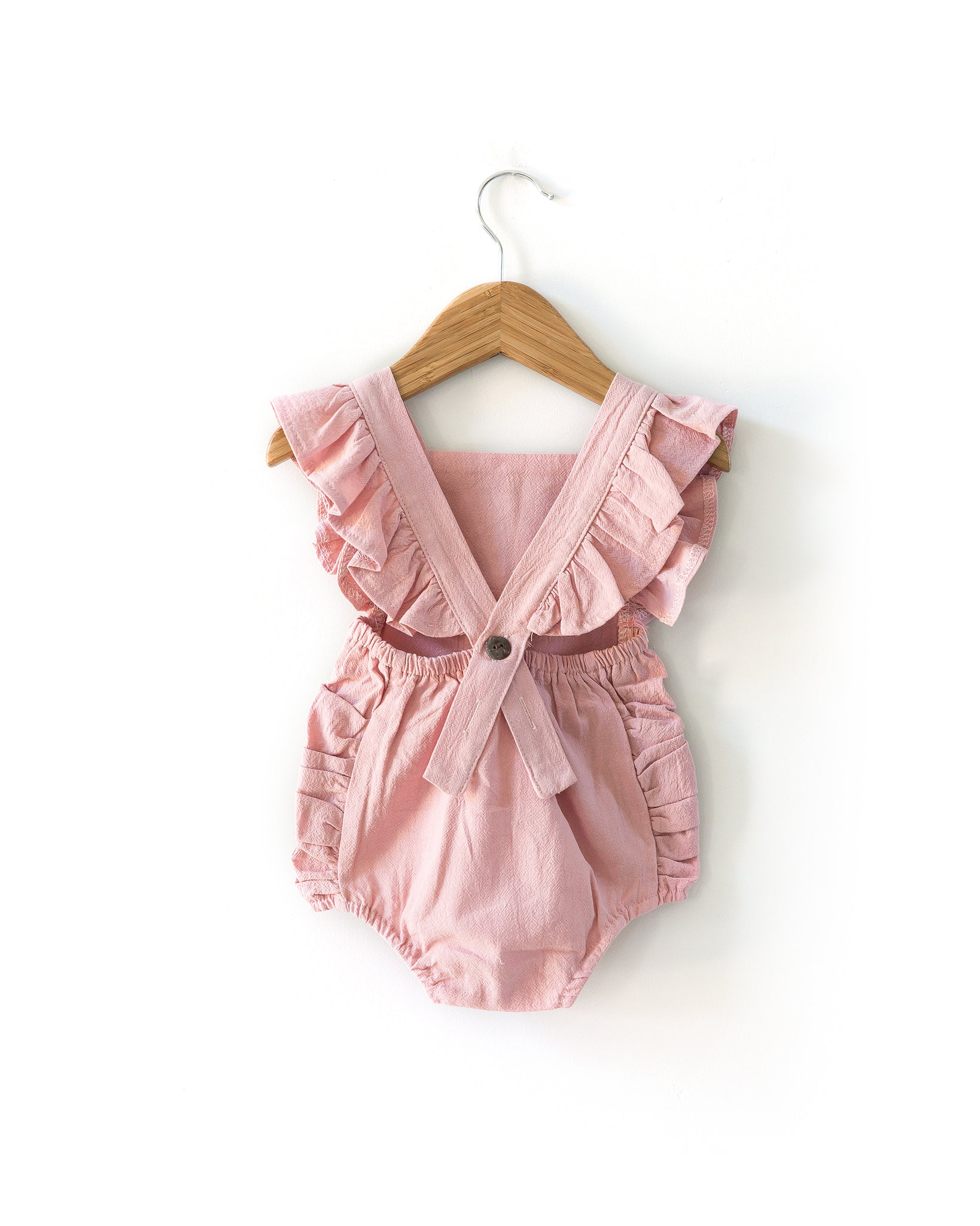 Evelyn Romper in Blush Pink - Reverie Threads