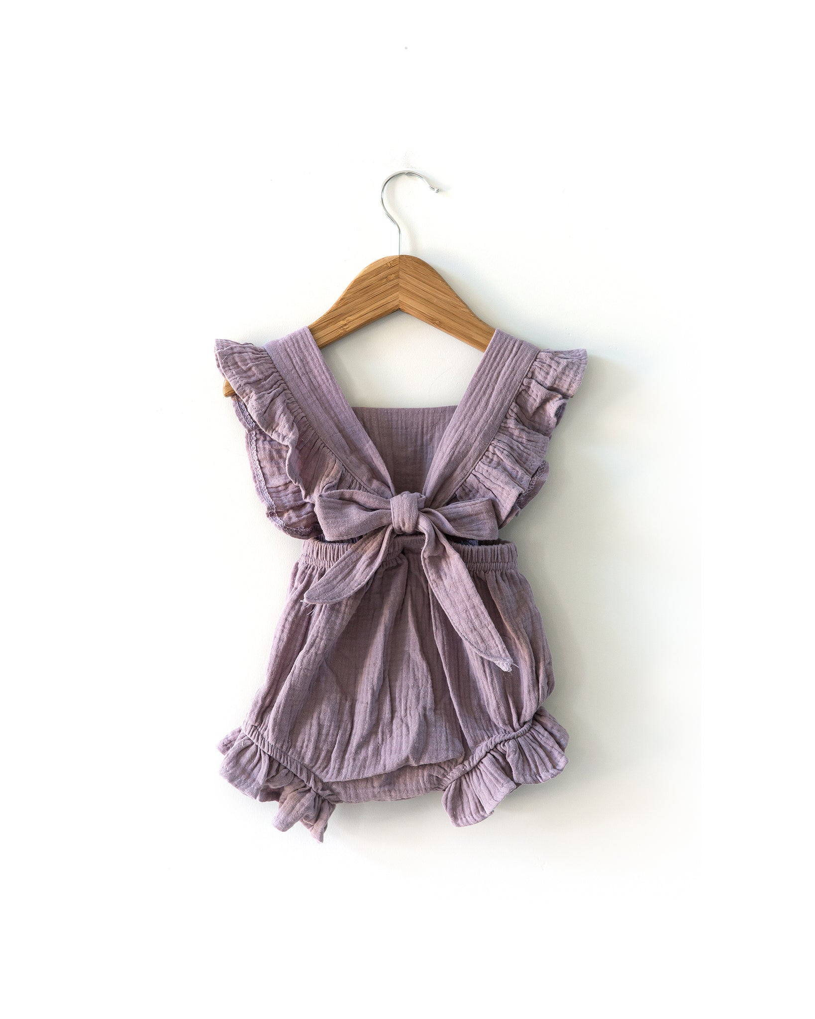 Sofia Romper in Violet - Reverie Threads