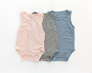 Basic Bodysuit in Pink - Reverie Threads