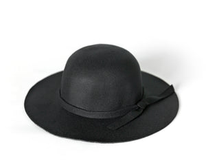 Floppy Hat in Black - Reverie Threads