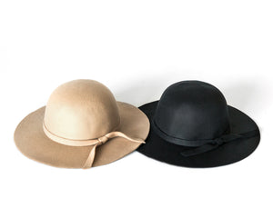 Floppy Hat in Black