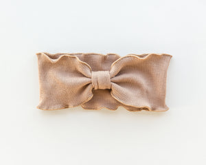 Lettuce Trim Headband in Caramel - Reverie Threads