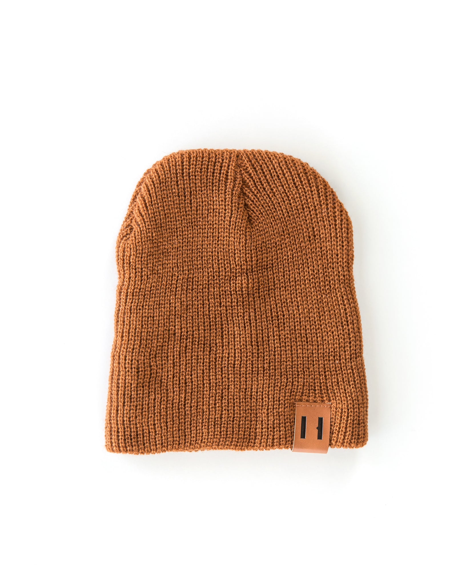 Daddy & Me Dude Beanie in Cognac - Reverie Threads