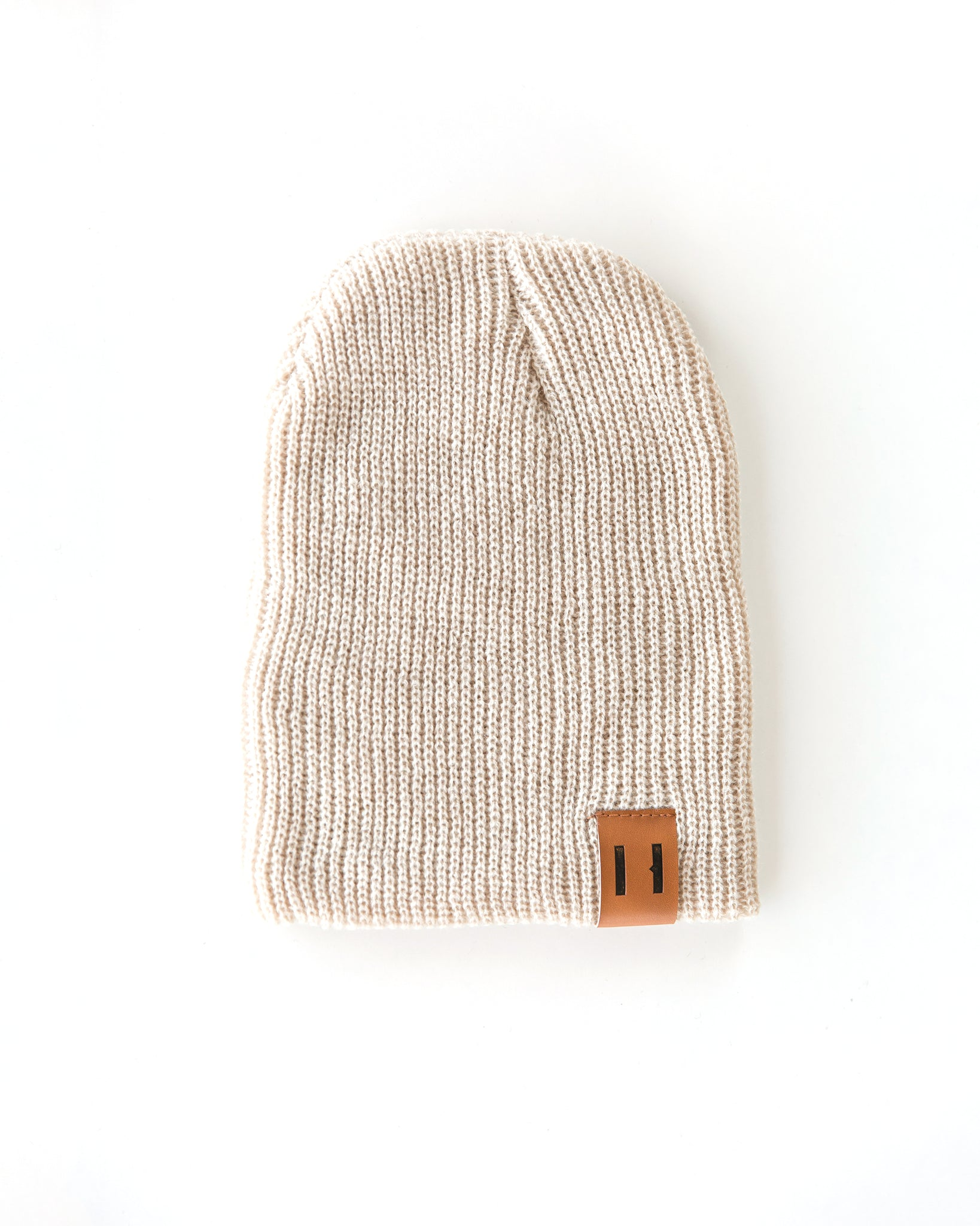 Daddy & Me Dude Beanie in Oatmeal - Reverie Threads
