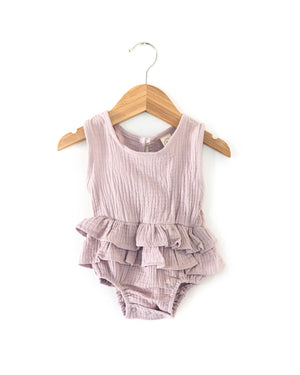 Sasha Romper in Violet - Reverie Threads