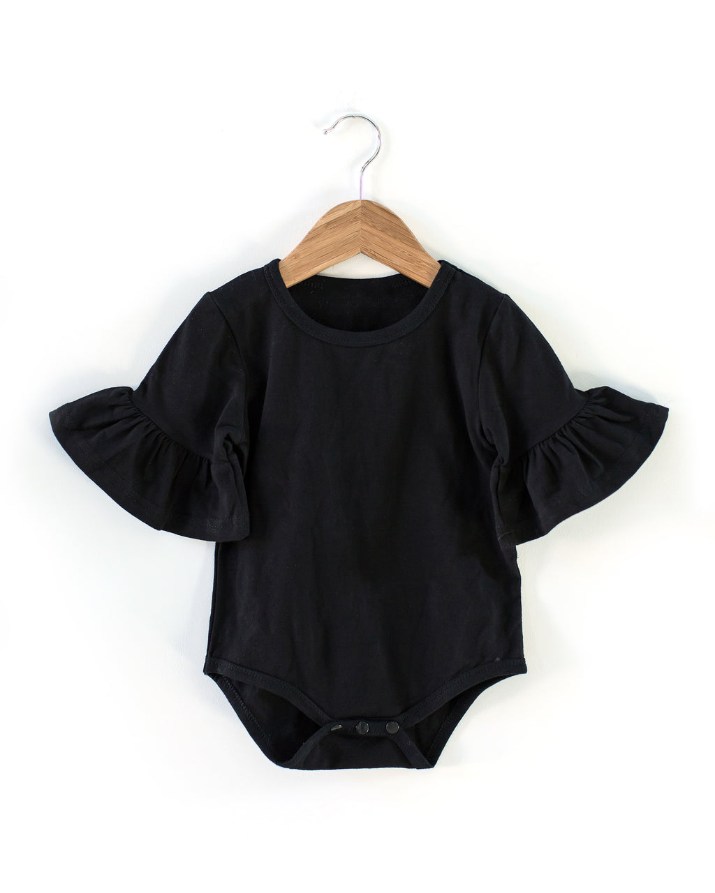 Annabelle Bodysuit in Black - Reverie Threads