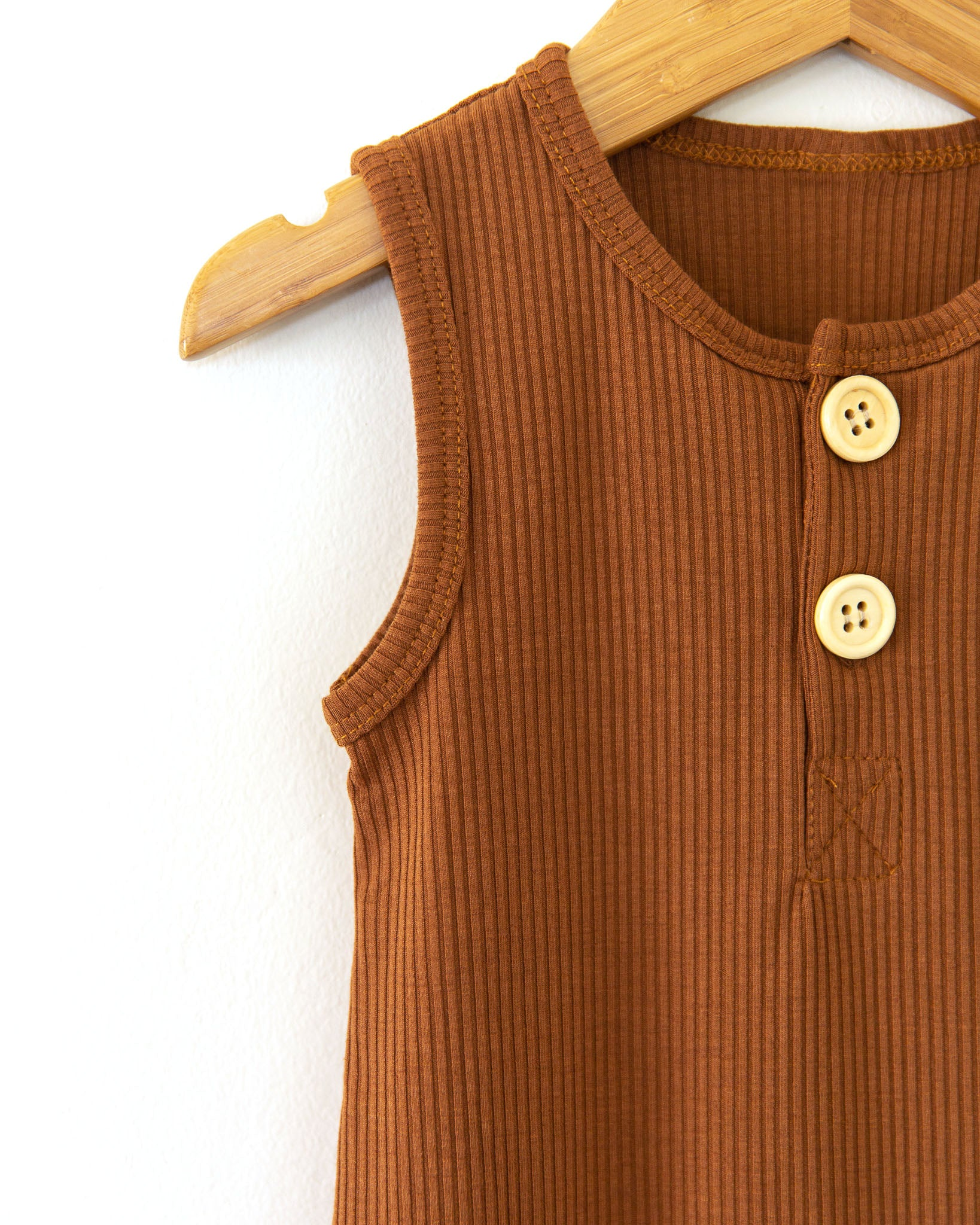 Miles Romper in Brown - Reverie Threads