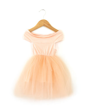 Evie Dress in Blush Pink - Reverie Threads