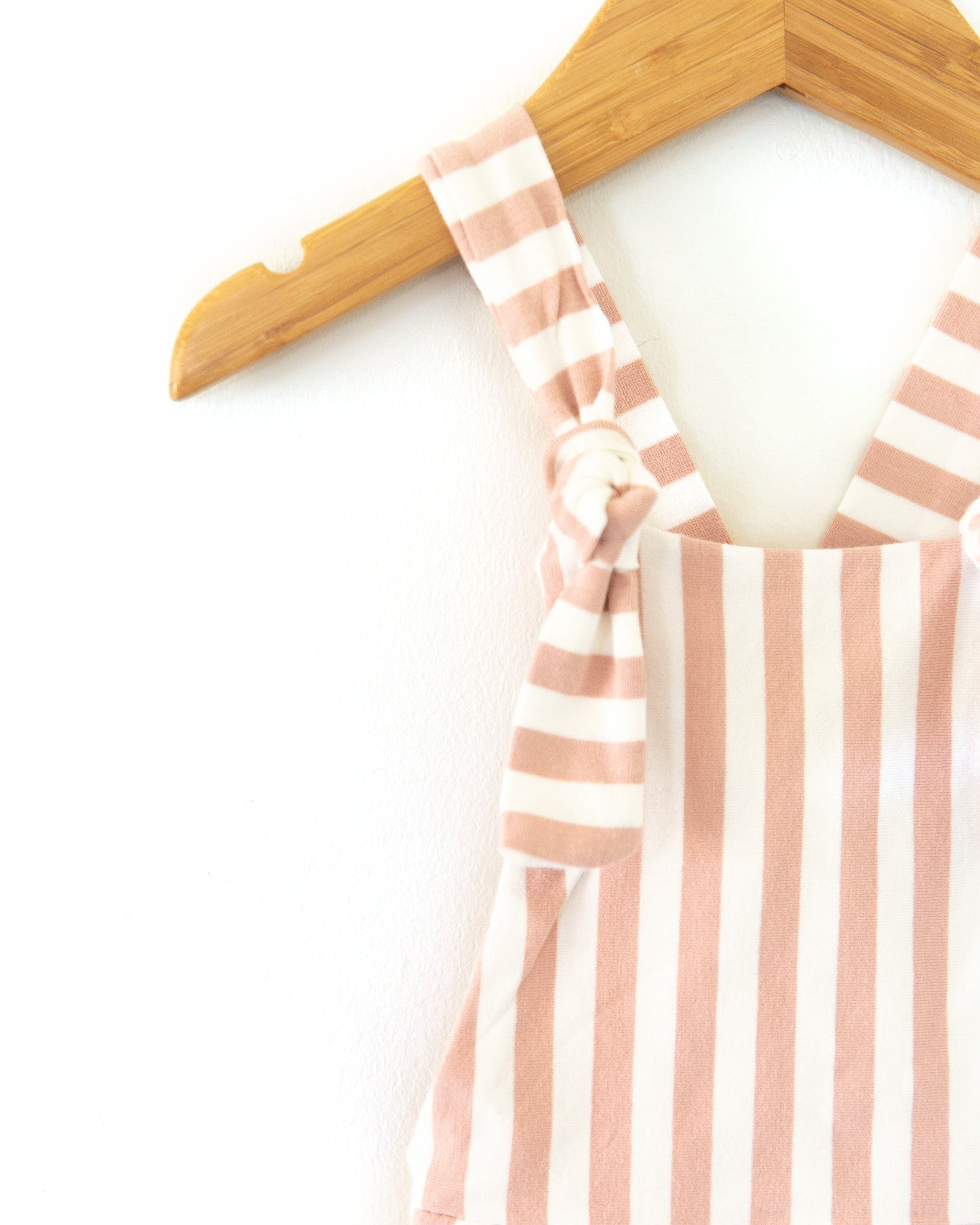 Hippie Vibes Jumpsuit in Pink Stripes - Reverie Threads