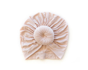 Knot Turban in Dusty Blush - Reverie Threads
