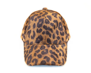 Velvet Cheetah Baseball Cap - Reverie Threads
