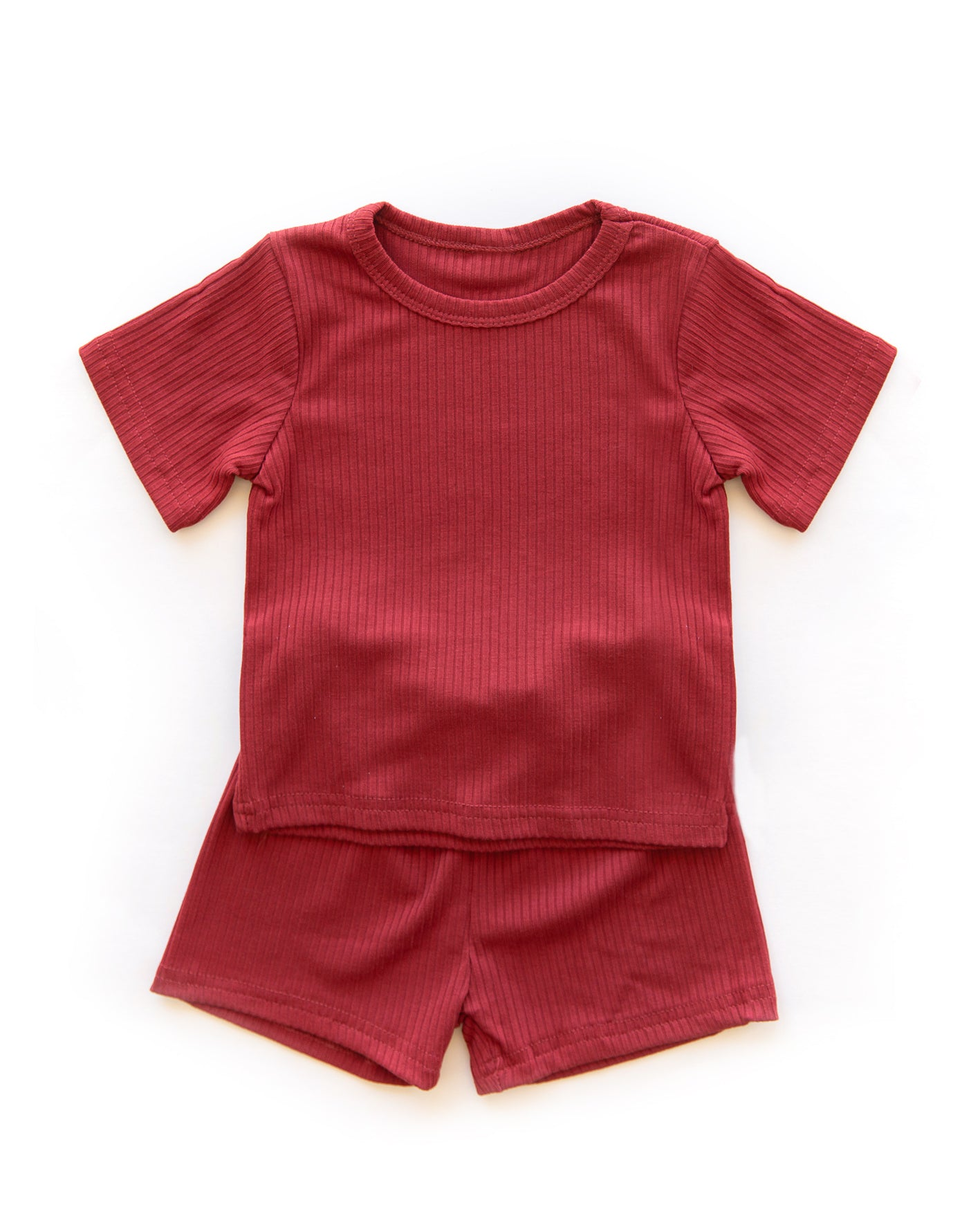 Riley Outfit in Deep Red - Reverie Threads