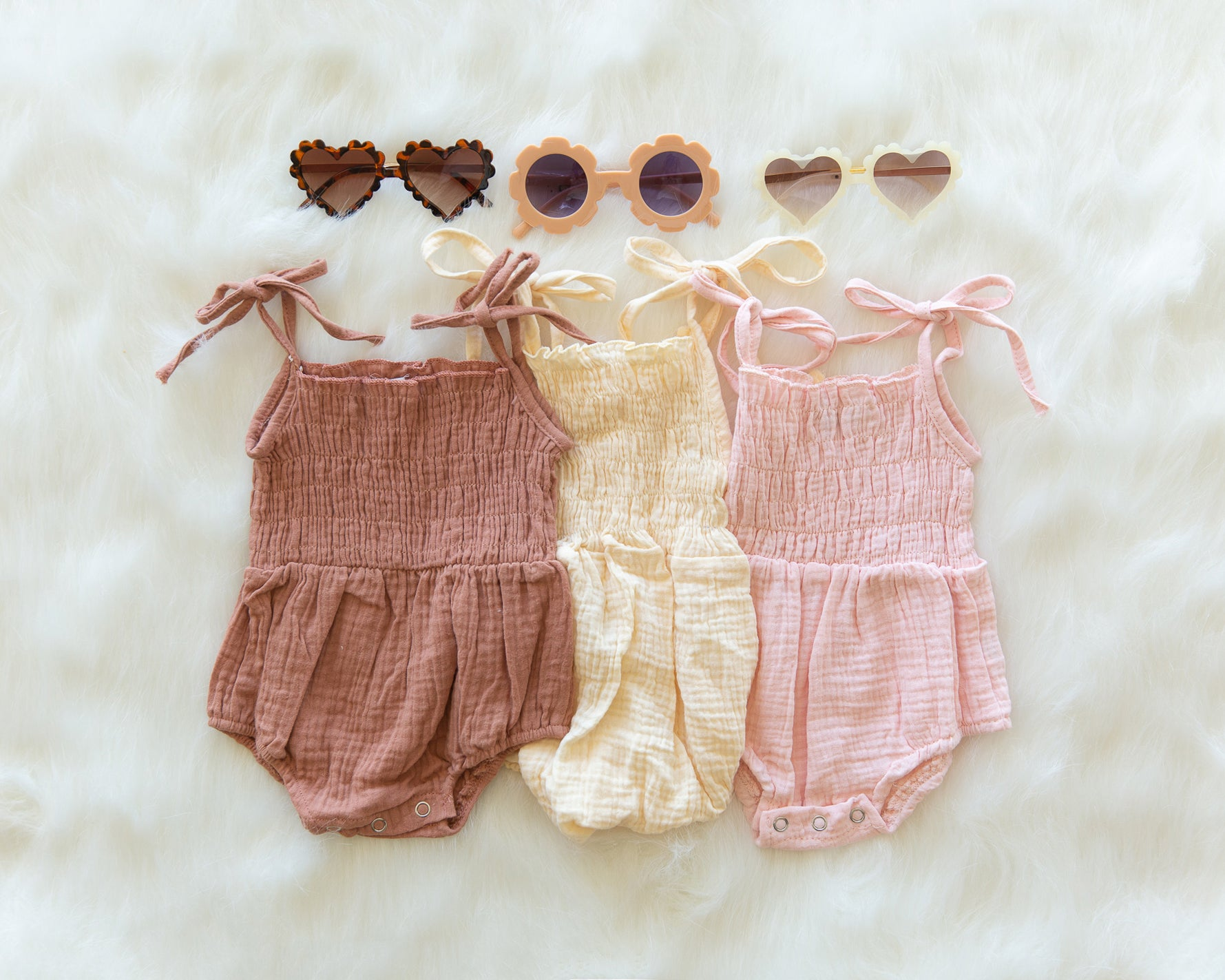 Ruby Romper in Earthy Orange - Reverie Threads
