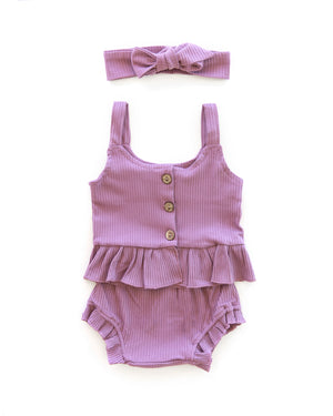 Kylie Outfit in Plum - Reverie Threads